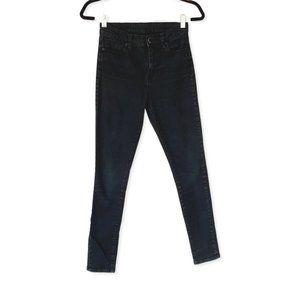 Womens BDG Black Twig High Rise Jeans 25 W